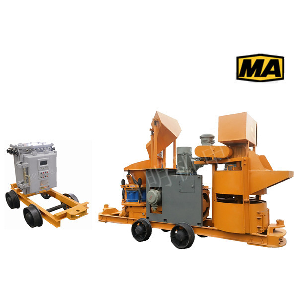 JPS6IH矿用湿式混凝土喷射机组